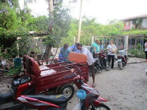 Kuhn Charlie & his transport on Koh Phayam